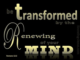Romans 12-2 Be Transformed By The Renewing of Your Mind gold